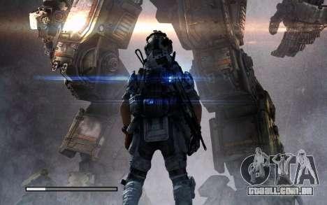 Arranque telas e menus Titanfall para GTA San Andreas oitavo tela