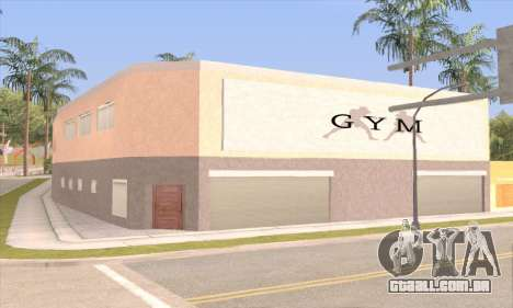 New gym para GTA San Andreas