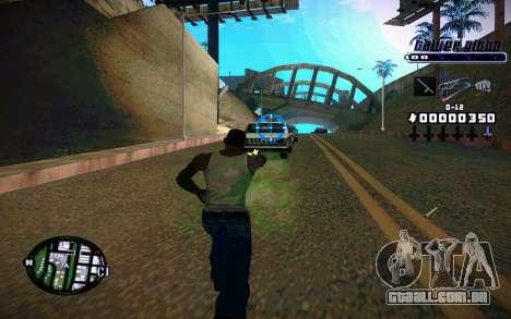 C-HUD Tawer Gitto para GTA San Andreas segunda tela