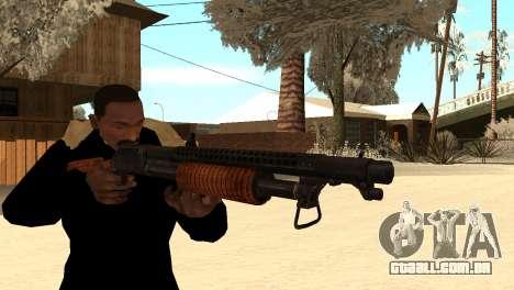 M1897 from Battle Territory Battery para GTA San Andreas terceira tela
