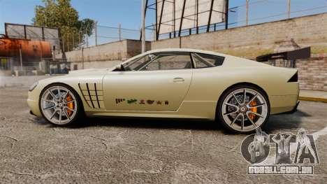 GTA V Ocelot F620 Racer para GTA 4 esquerda vista
