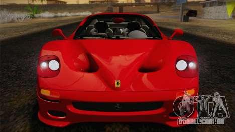 Ferrari F50 1995 para GTA San Andreas vista traseira