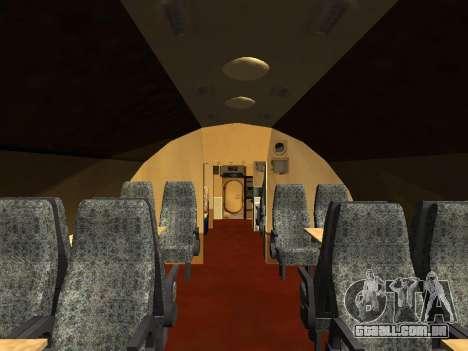 Tu-Um para GTA San Andreas interior