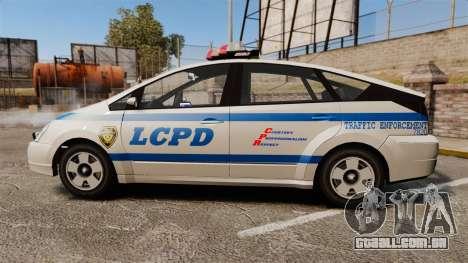 Karin Dilettante LCPD para GTA 4 esquerda vista