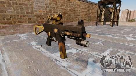 A metralhadora UMP45 Queda Camos para GTA 4