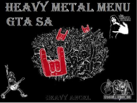 Heavy Metal Menu V.1 para GTA San Andreas