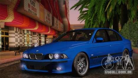BMW E39 M5 2003 para GTA San Andreas vista direita