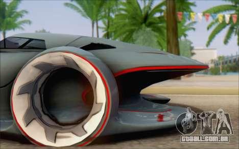 Mercedes-Benz SilverArrow para GTA San Andreas traseira esquerda vista