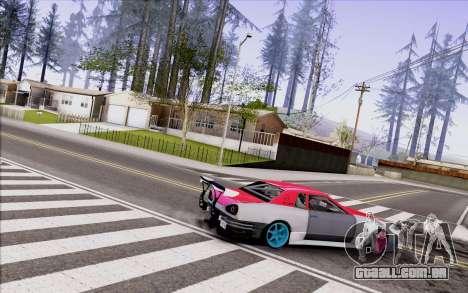 Elegy New Drift Kor4 para GTA San Andreas traseira esquerda vista