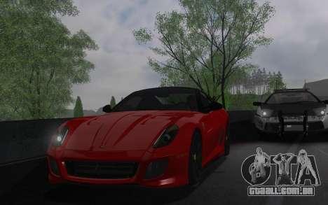 ENBSeries pelo AVATAR 4.0 Final para o PC fraco para GTA San Andreas sexta tela