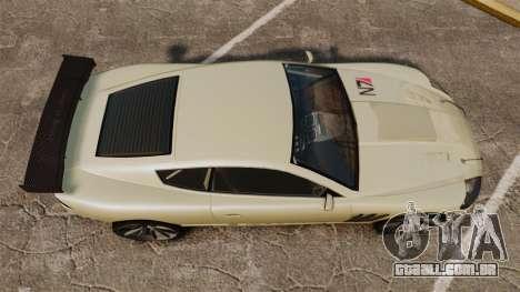 GTA V Ocelot F620 Racer para GTA 4 vista direita