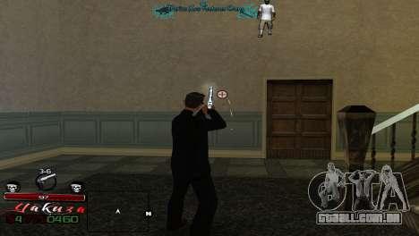 Yakudza HUD para GTA San Andreas terceira tela