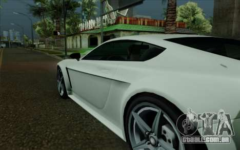 Rapid GT para GTA San Andreas vista superior