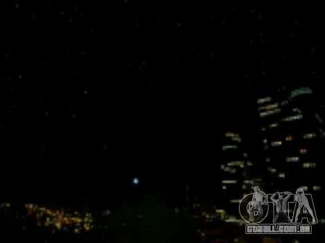 SkyBox Arrange - Real Clouds and Stars para GTA San Andreas terceira tela