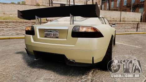 GTA V Ocelot F620 Racer para GTA 4 traseira esquerda vista