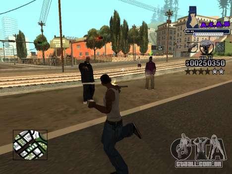 C-HUD new A.C.A.B para GTA San Andreas sexta tela