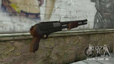 M3 Sawn-Off Shotgun para GTA San Andreas segunda tela