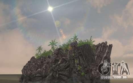 ENBSeries pelo AVATAR 4.0 Final para o PC fraco para GTA San Andreas por diante tela