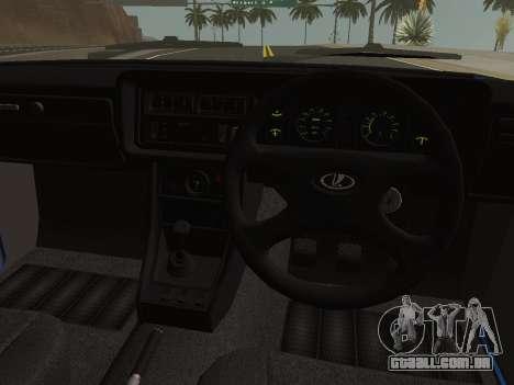 VAZ-2107 Riva para GTA San Andreas vista traseira