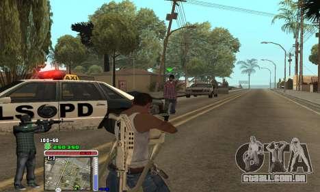 C-HUD Grove by Krutoyses para GTA San Andreas