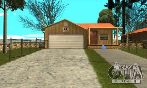 Nova casa do Sijia em Palomino Chorar para GTA San Andreas
