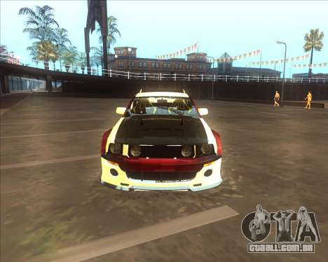 Ford Mustang GT из NFS MW para GTA San Andreas traseira esquerda vista