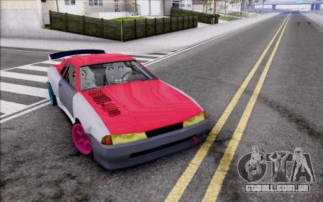 Elegy New Drift Kor4 para GTA San Andreas vista inferior