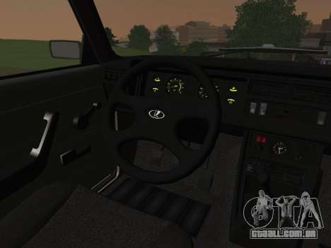 VAZ-2107 para vista lateral GTA San Andreas