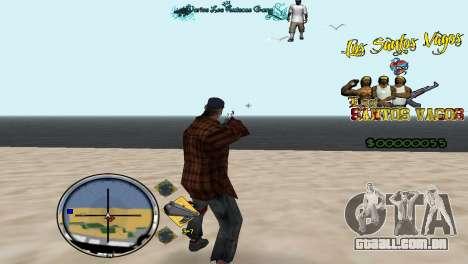 Vagos HUD para GTA San Andreas segunda tela