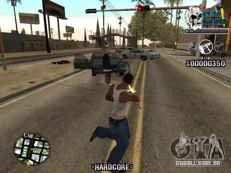 C-HUD Hardcore By KD para GTA San Andreas terceira tela