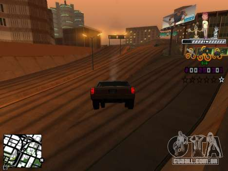 C-HUD Prostokvashino para GTA San Andreas terceira tela