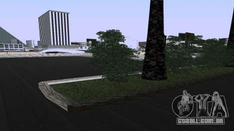 Novas texturas Estação ferroviária em Las Ventur para GTA San Andreas terceira tela