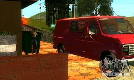 A revitalização da aldeia Montgomery para GTA San Andreas terceira tela