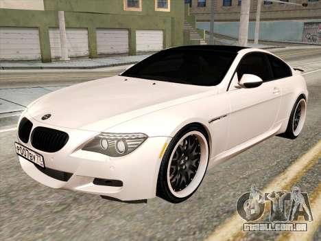 BMW M6 Hamann para GTA San Andreas