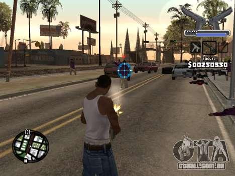 C-HUD Deagle para GTA San Andreas segunda tela