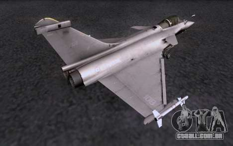 Dassault Rafale M para GTA San Andreas vista direita