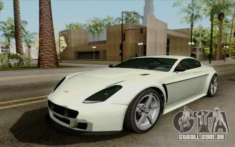 Rapid GT para GTA San Andreas esquerda vista
