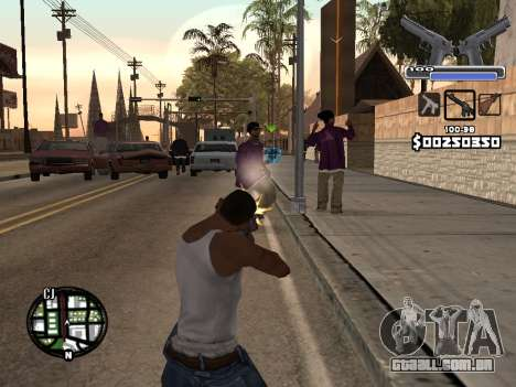 C-HUD Deagle para GTA San Andreas