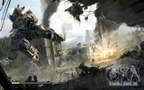 Arranque telas e menus Titanfall para GTA San Andreas décima primeira imagem de tela