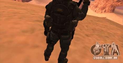 Tenente David Hesh Walker из Call Of Duty: Ghost para GTA San Andreas sétima tela