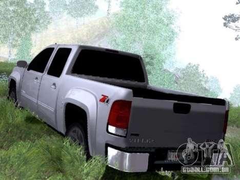 GMC Sierra SLT para GTA San Andreas vista direita