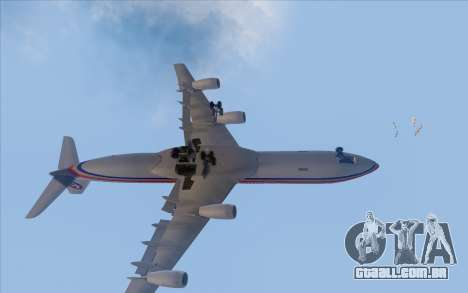 Airbus A340-300 China Eastern para GTA San Andreas vista interior