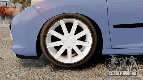 Peugeot 207 RC para GTA 4 vista de volta