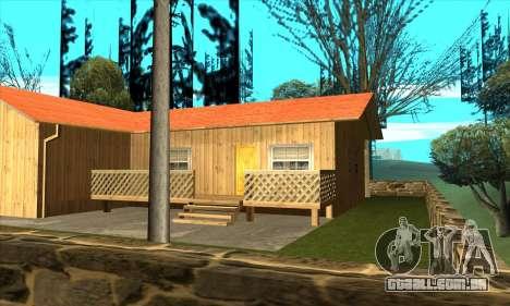 Nova casa do Sijia em Palomino Chorar para GTA San Andreas terceira tela