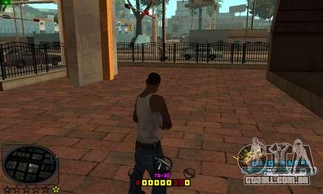 C-HUD Old-Rifa para GTA San Andreas segunda tela