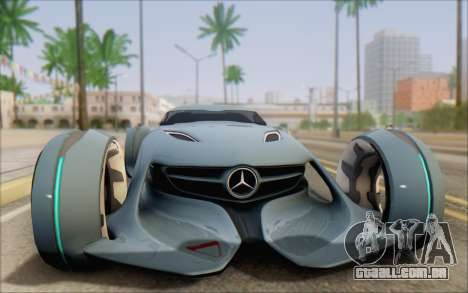 Mercedes-Benz SilverArrow para GTA San Andreas vista direita