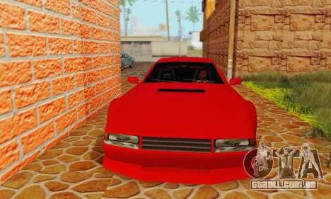New Cheetah v1.0 para GTA San Andreas esquerda vista