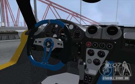 Gumpert Apollo S Autovista para GTA San Andreas vista traseira