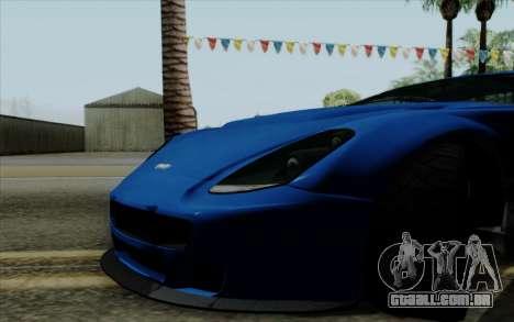Rapid GT para GTA San Andreas vista direita