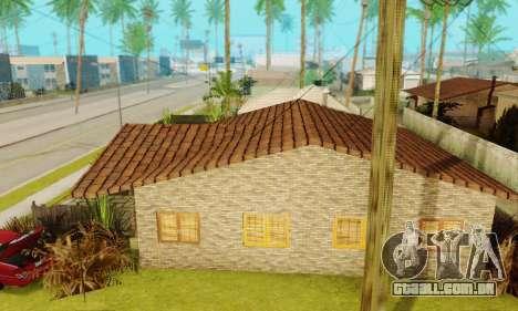 Novas texturas da casa de Denis para GTA San Andreas terceira tela